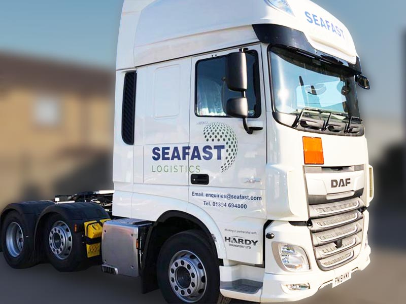 Seafast Logistics, Lorry
